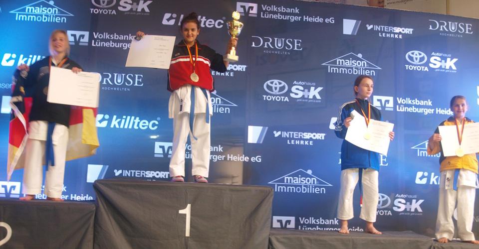Seden ist Deutsche Meisterin der Schüler 2013