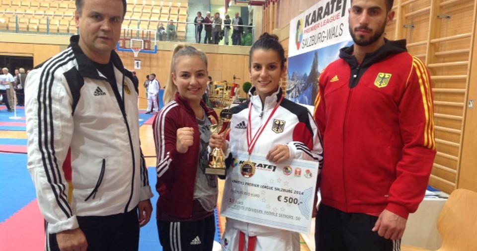 Gold in der Karate Premier League: Duygu Bugur auf WM-Kurs