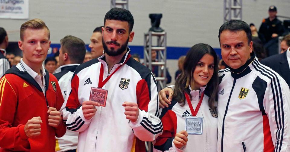 Zwei Vize-Weltmeistertitel haben die Sportler des SC Banzai geholt.